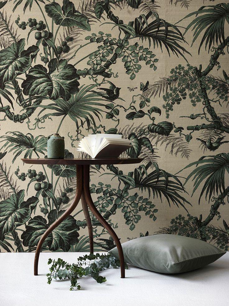 Årets stora trend – mönstrade tapeter! | ELLE Decoration