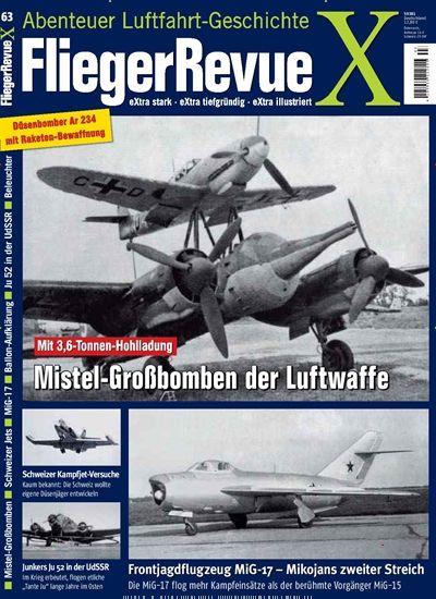 Mit 3,6-Tonnen-#Hohlladung #Mistel-#Großbomben der #Luftwaffe  Jetzt in FliegerRevue X:  #Luftfahrt #Mistelschlepp