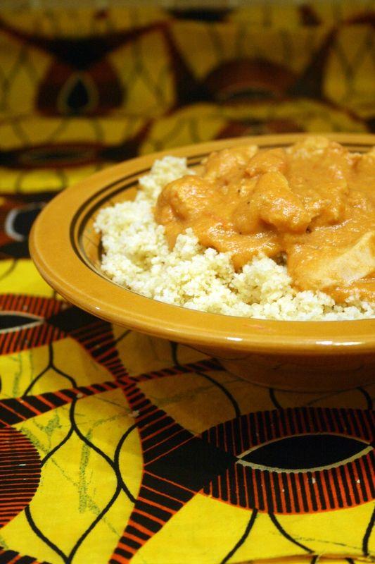Maffé ou riz sauce arachide, recette Malienne !