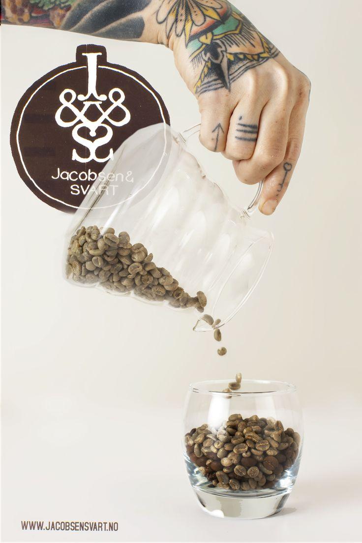 Coffee Beans, High End Coffee.  Third wave coffee. Handbrew. Coffee.  Jacobsen & Svart, Trondheim - Norway. Hario V60.