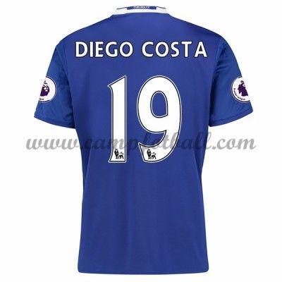 Chelsea Fotballdrakter 2016-17 Diego Costa 19 Hjemmedrakt