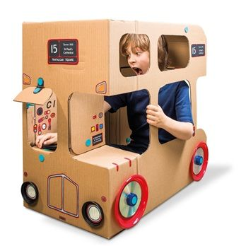 MakeDo London Bus « Babyccino Kids: Daily tips, Children's products, Craft ideas, Recipes & More