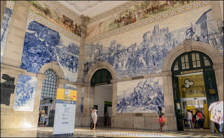 Estação de São Bento / Estación de Trenes de San Bento / San Bento Railway Station [2014 - Porto / Oporto - Portugal] #fotografia #fotografias #photography #foto #fotos #photo #photos #local #locais #locals #cidade #cidades #ciudad #ciudades #city #cities #europa #europe #turismo #tourism #baixa #cascoantiguo #downtown @Visit Portugal @ePortugal @WeBook Porto @OPORTO COOL @Oporto Lobers