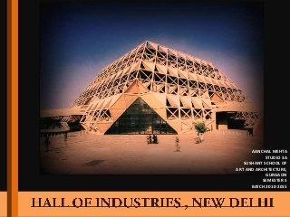 Hall of industries