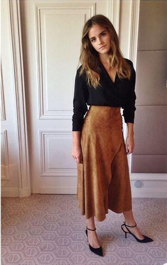 De Britse actrice en VN-ambassadrice Emma Watson ging de uitdaging aan om tijdens de promotour van Regression enkel duurzame outfits te dragen.