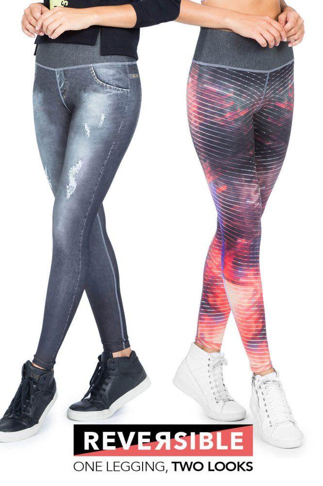 Legging Reversible Dark Street Jeans