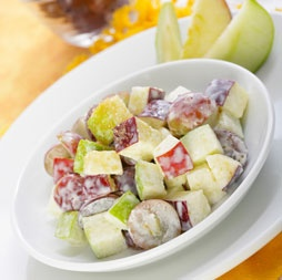 rosh hashanah fruit salad recipe