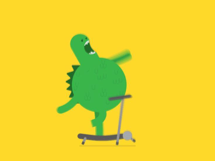 Godzilla On A Treadmill
