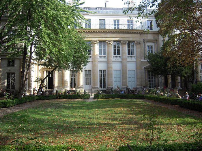 Notre Paris (un peu) secret Hôtel de Galliffet - Institut culturel italien de Paris