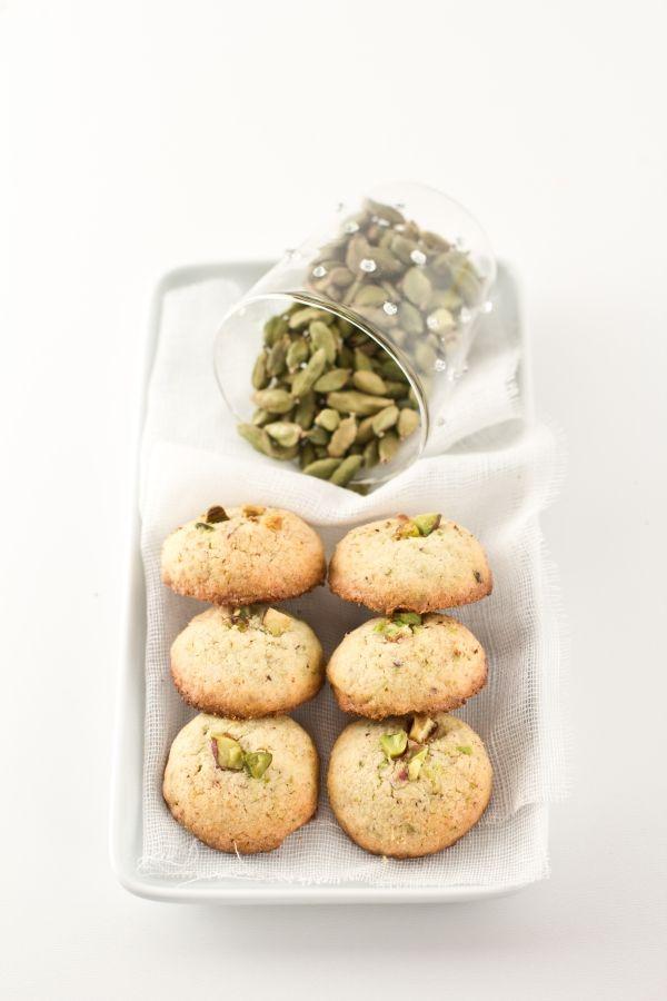 per Ale biscotti riso e pistacchiO profumati al cardamomo