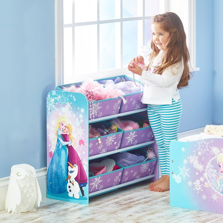 Mejores 25 im genes de organizador de juguetes infantil en for Cuartos para ninas frozen