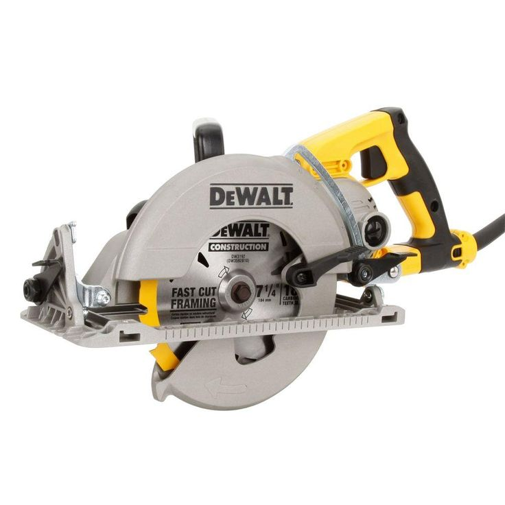 DEWALT 15 Amp 7-1/4 in. Worm Drive Circular Saw