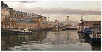 Plakat Helsinki - Finlandia