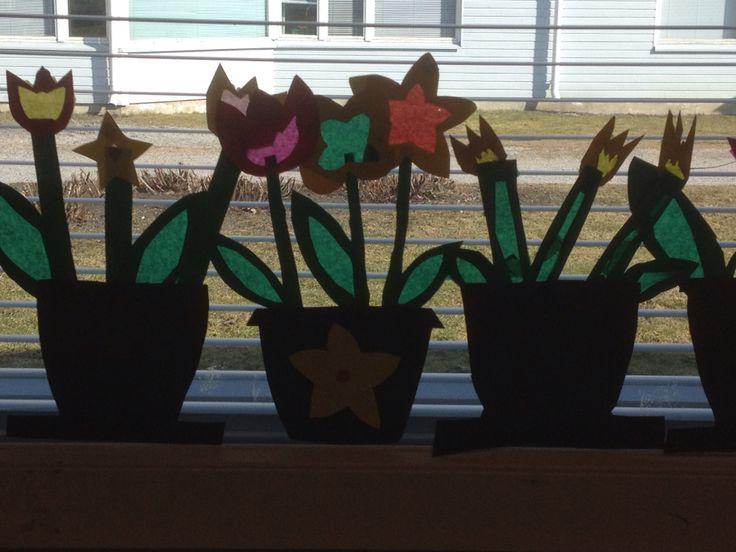 Kevättä ikkunassa!