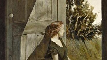 """""""Christina Olson"""", 1947, di Andrew Wyeth, pittore della Pennsylvania"""
