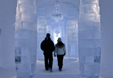 Sweden    Since 1990, the world-famous Swedish ICEHOTEL has been opening its door and creating must-see art from the waters of the local river Torne in Swedish Lapland. Open till mid-April, the ICEHOTEL is now the biggest in the world.