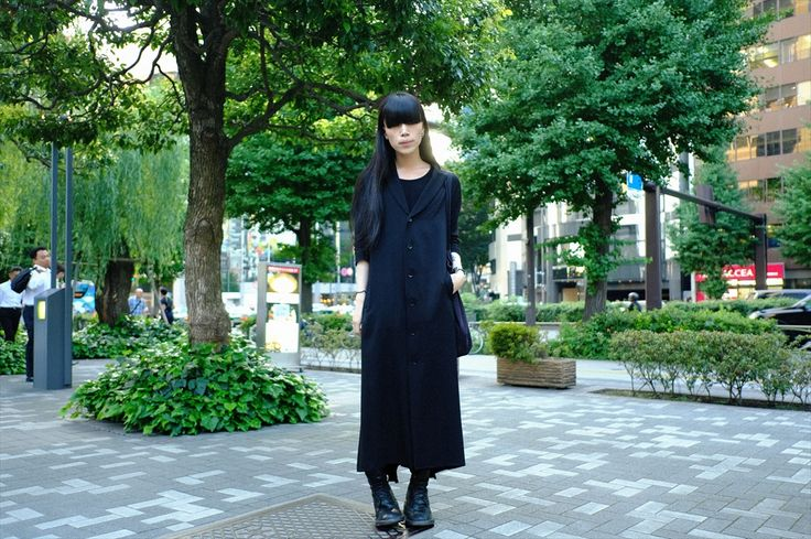 He's Sato-kun,student of Bunka fashion col…