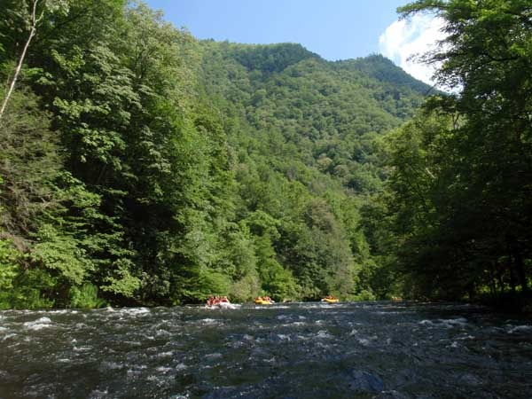 Nantahala River rafting! The second river I white water rafted! Amazing words cannot express how much fun this is!