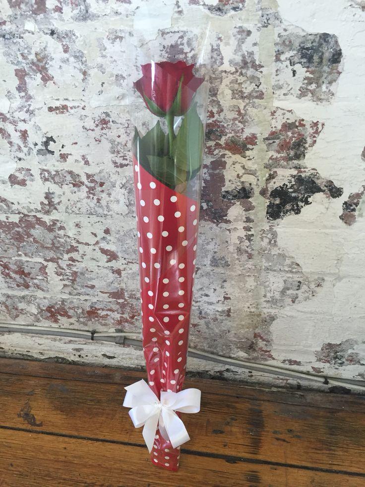 Single rose wrap