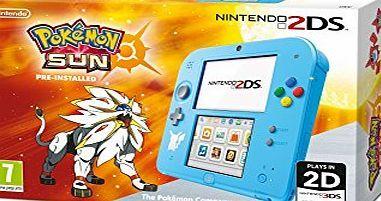 Nintendo UK Nintendo Handheld Console 2DS with Pokemon Sun