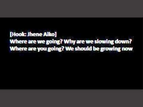Kendrick Lamar - Growing Apart feat. Jhene Aiko (Lyrics on Screen)
