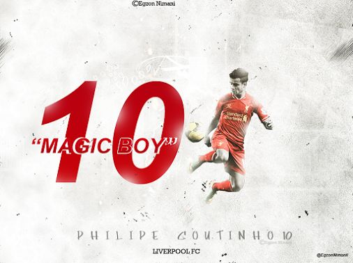 Philippe Coutinho Liverpool FC