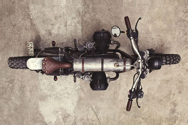 """BMW R65 Bobber - Tracker """"Mad Max"""" by Delux Motorcycles #motorcycles #bobber #motos 