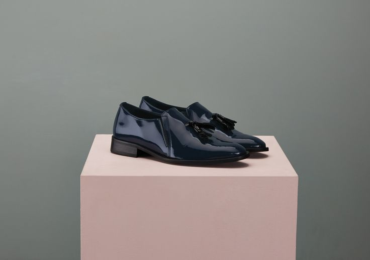 Embrook Italian Loafer with Tassel - Finery London | UK