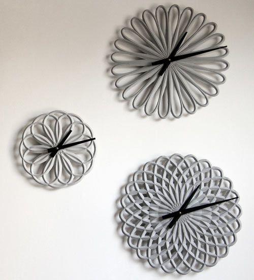 Made of concrete! (Para Clocks by LeeLABS.)