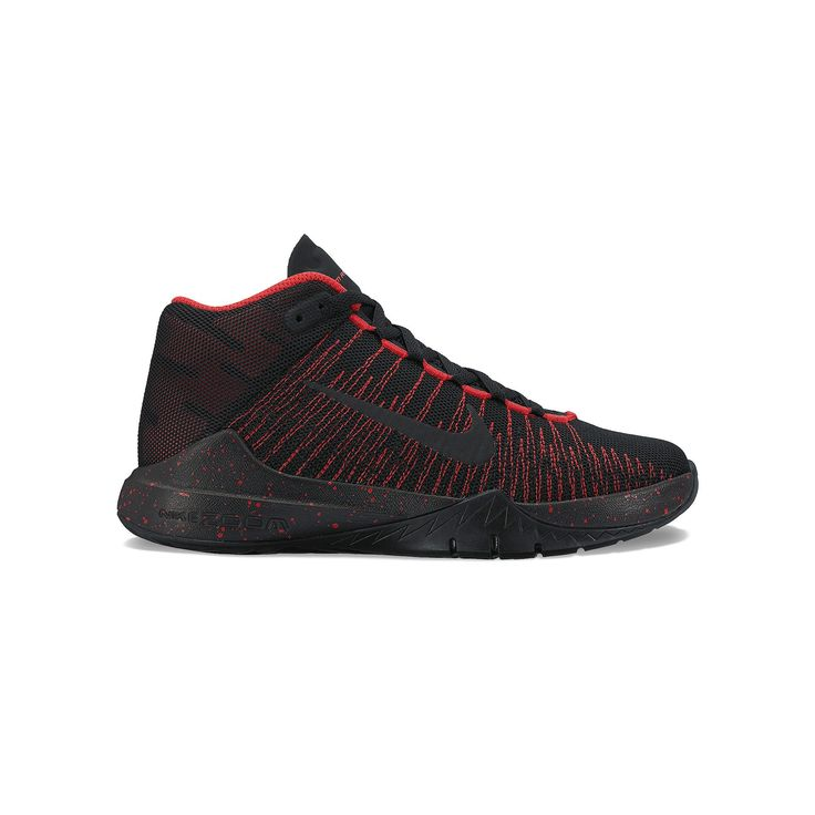 4b73c7c6b38ef9 ... Nike Zoom Ascension Grade School Boys  Basketball Shoes