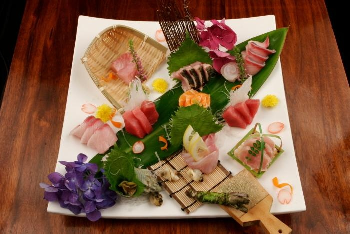 Sashimi Platter from Kanoyama in NYC