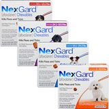 NexGard Chewable Flea and Tick Medicine for Dogs  - 1800PetMeds