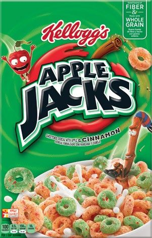 SAVE 50¢ on any ONE Kellogg's® Apple Jacks® Cereal, plus visit LOZO.com for 30+ more cereal coupons!