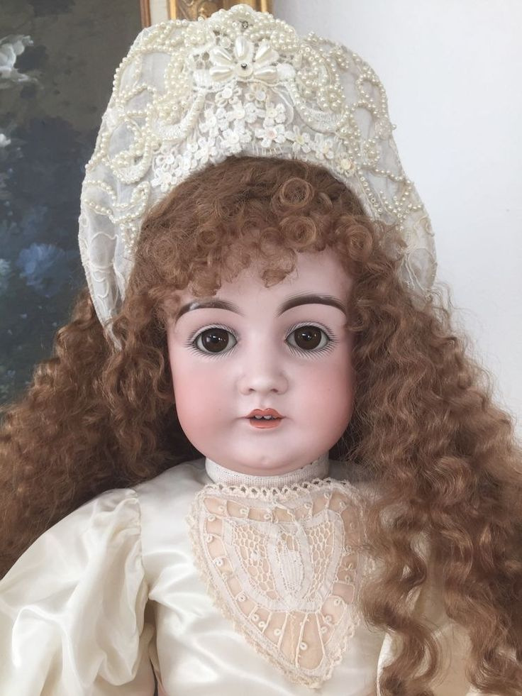 RARE LARGE Beautiful Antique JD Kestner 146 German Doll Beautifully Dressed