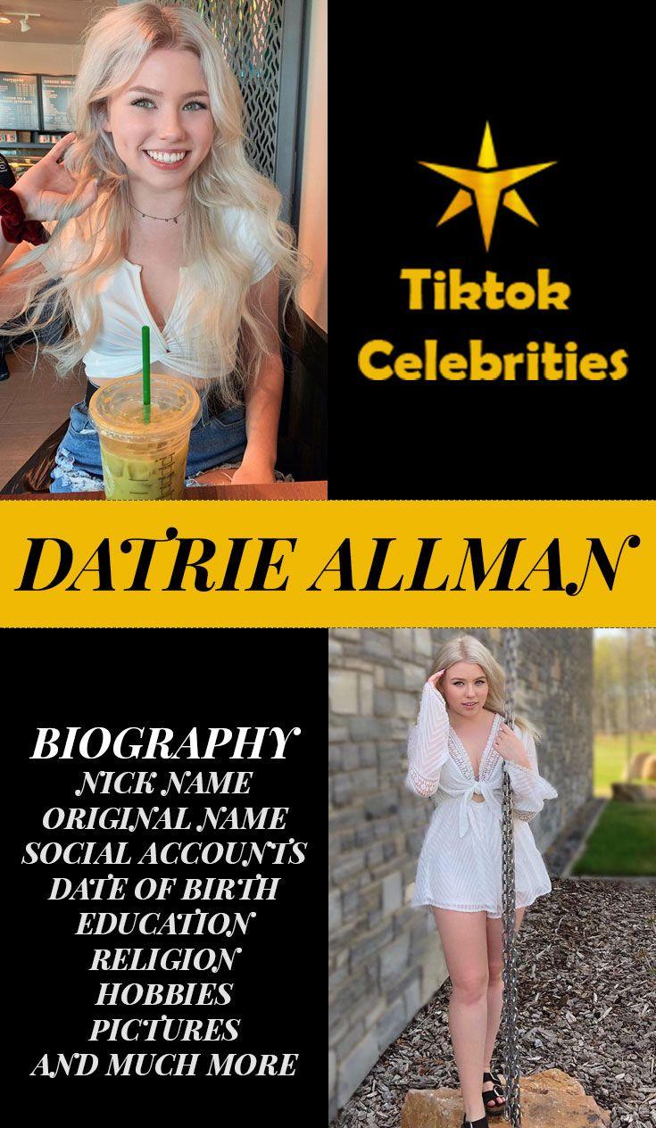 Datrie Allman Biography Celebrities Birth Education