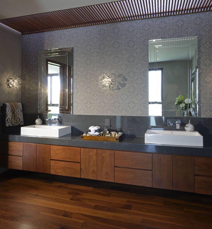 Baño Casa GL : Baños modernos de VICTORIA PLASENCIA INTERIORISMO
