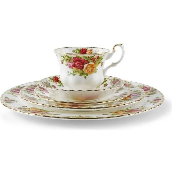Royal albert old country roses 20 piece set 375 liked for Kitchen set royal