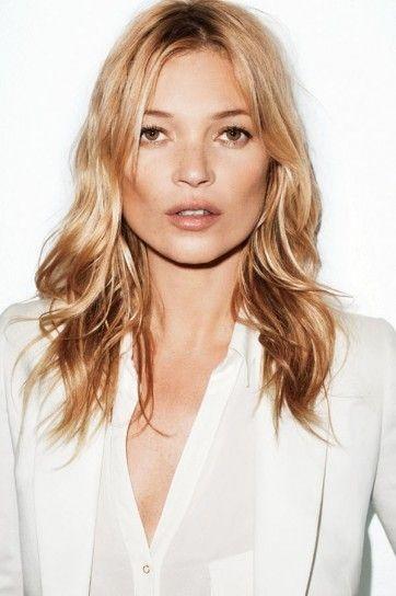 Tagli per donne mature Taglio medio lungo per Kate MossTaglio medio lungo  una soluzione ideale per le donne mature.