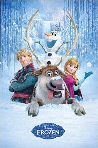 traumhaftes Poster von Frozen