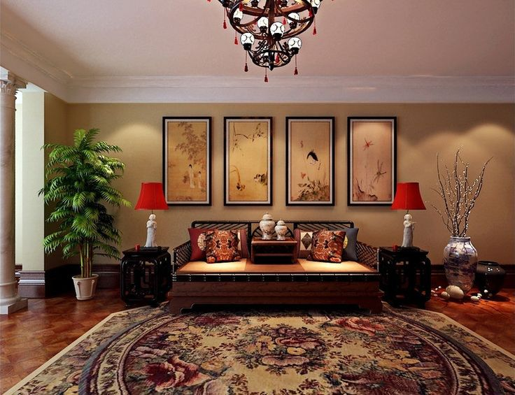 oriental chinese interior design asian inspired living. Black Bedroom Furniture Sets. Home Design Ideas