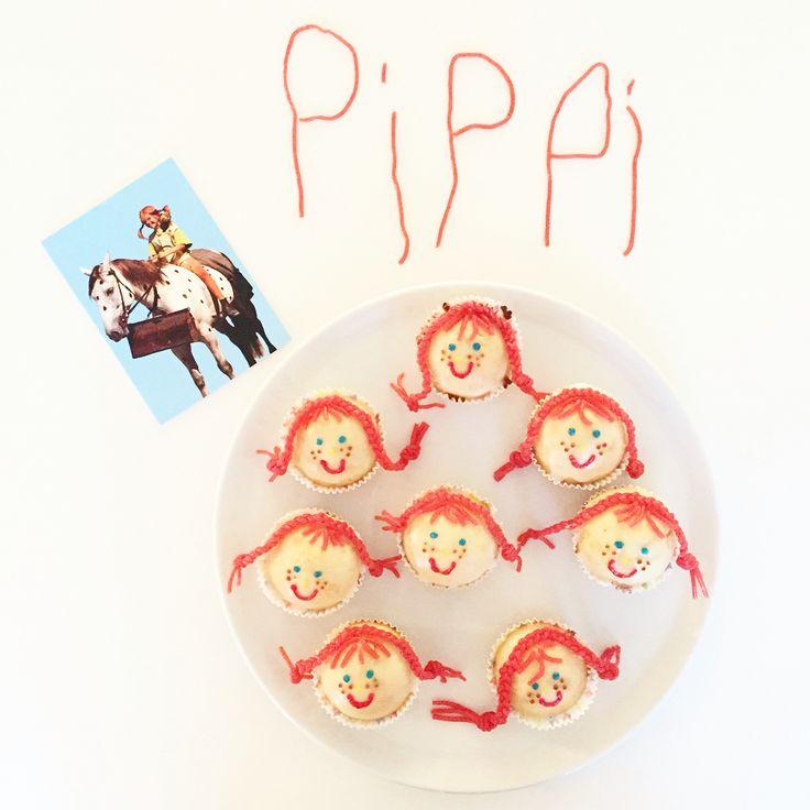 Wir haben Pippi Langstrumpf Muffins gebacken! Sie sind ganz einfach, mehr dazu auf dem Blog www.herrundfraukrauss.com/blog