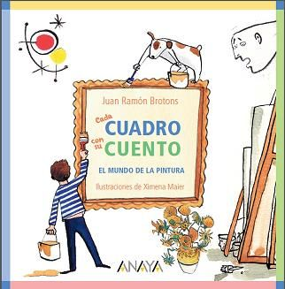 Los niños y el arte tienen mucho que ver, y si no que se lo pregunten a María, la niña que descubrió las pinturas de la cueva de Altamira. Por eso este libro habla de pintura y de niños.   Un recorrido a lo largo de diferentes cuadros que forman parte de la historia de la pintura, pasando por artistas como Leonardo da Vinci, Van Gogh, Kandinsky, Dalí o Picasso, con los que el lector se acercará al mundo del arte.
