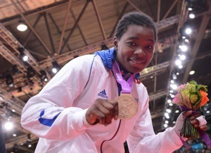 Audrey Tcheuméo/Médaille de bronze Judo - de 78kg