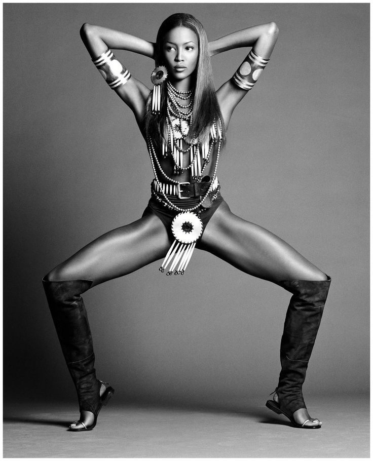 Naomi Campbell for VOGUE 1992