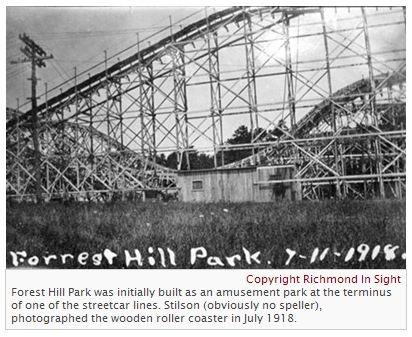 forest hill park roller coaster