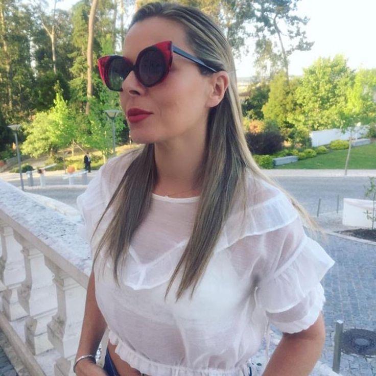 @patxi16 Portugal 🇵🇹 friends with ESSEDUE Cateye woman Sunglasses 😺😽😻Evergreen Model of Sunglasses History 😻😺😽  ・・・  [so in love with my new crazy cool shades, thank you to @esseduesunglasses] 😍😎 #crushoftheday #eyewear #eyewearlover #eyewearfashion...