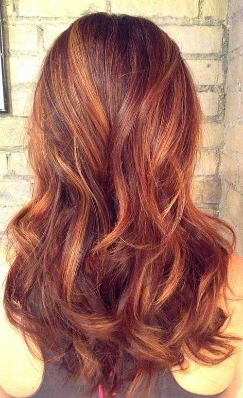 18.Auburn Hair