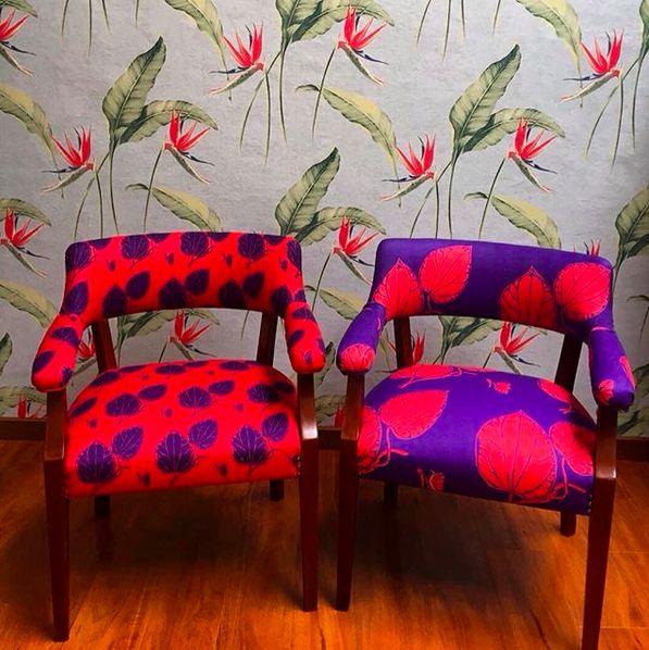 And here come the other 2, acá vienen las otras 2#lottihaeger #art #architecture #arquitectura #color#colour #chair #decor #design #designer #decoration #decorating #fabric#flowers #home #homedecor #homedesign #homestyling #interior #interiordesign #interior #inredning #merakiudiseño #merakiudiseño #pattern #tropical #textiles