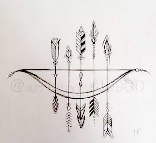 Classroom Design Arrow Or X ~ Best images about tattoo on pinterest watercolor