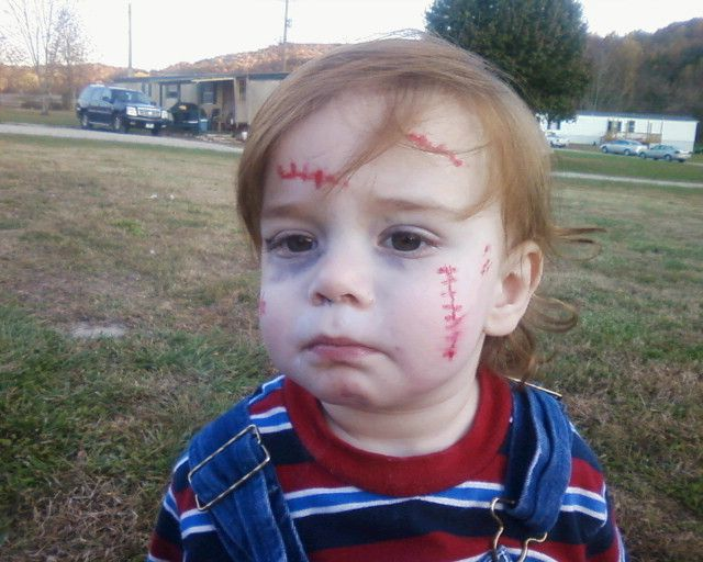chucky costume for toddler - Google Search
